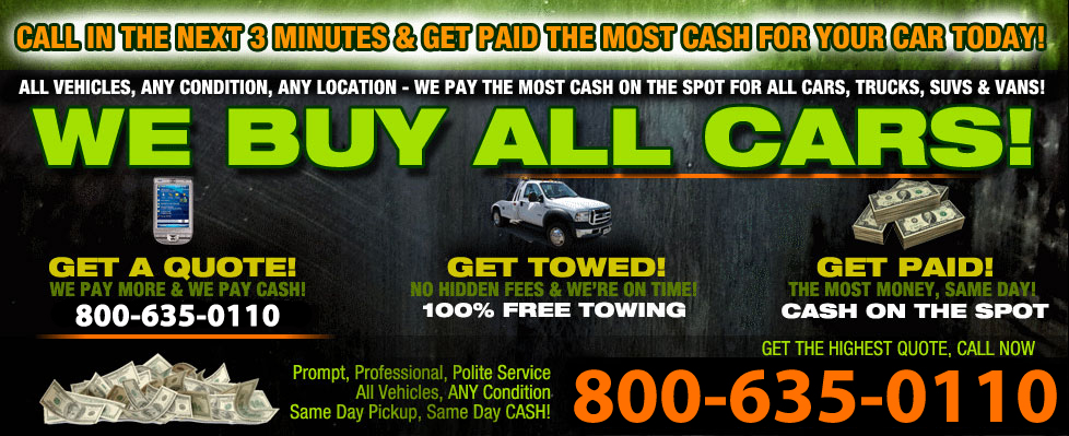 Cash For Junk Cars In Shawano WI
